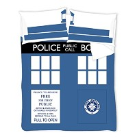 Double Doctor Who Timelord TARDIS Duvet Cover Set from BBC Worldwide by BBC Worldwide