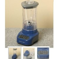 Kitchenaid 4 speed blender KSB465BW Polycarbonate Unbreakable Jar Color Blue Willow by KitchenAid ...