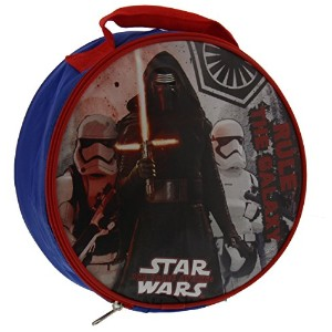 Star Wars The Force Awakens Lunch Box Bag Kylo Ren Troppers - Blue, Red - Round by Disney
