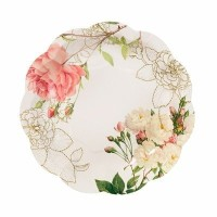 Blossom & Brogues Party Plates by Talking Tables [並行輸入品]
