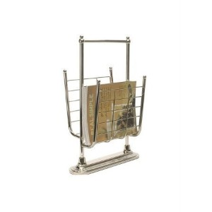 Organize It All Free Standing Magazine Rack in 13K Gold by Organize It All [並行輸入品]