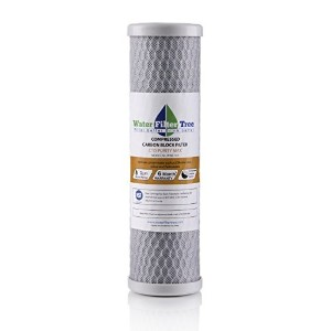 NSF Certified Compressed Carbon Block Filter, CTO Purity MAX,10, 1 Micron, WWC101 by Purity Pro...
