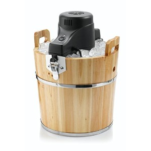 Sunbeam FRSBWDBK 4-Quart Ice Cream Wooden Bucket [並行輸入品]