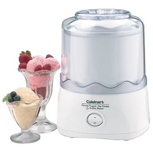 Cuisinart Ice Cream Maker With Bowl - Cuisinart ICE20EBWSO [並行輸入品]