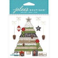 Jolee's Boutique Dimensional Stickers-Holiday Tree & Gifts (並行輸入品)