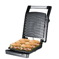 ZZ SM312 Gourmet Health and Contact Grill Panini Press and Sandwich Maker with Large Cooking...