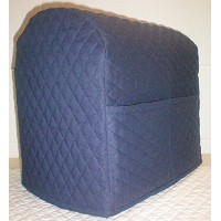 Quilted Kitchenaid Tilt Head Stand Mixer Cover (Navy Blue) by Penny's Needful Things