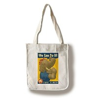 Rosie the Elephant – Republican – 政治 Canvas Tote Bag LANT-71241-TT