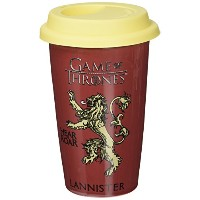 Game Of Thrones Ceramic Travel Mug Lannister