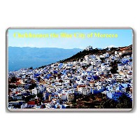 Chefchaouen the Blue City of Morocco/fridge magnet.!!! - ?????????