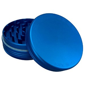 Space Case Grinder 2 Piece Small Matte Blue by Space Case