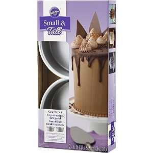 Wilton 2105-5636 2 Piece Small & Tall Layered Cake Pan Set by Wilton Enterprises