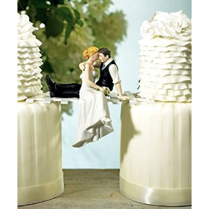 Weddingstar The Look of Love Bride and Groom Couple Figurine for Cakes [並行輸入品]