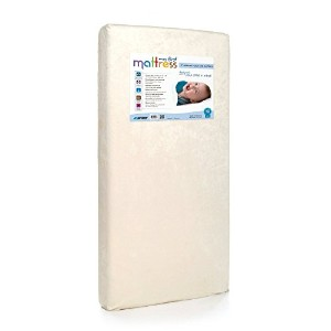 My First Mattress CertiPUR-US Memory Foam Crib Mattress with Waterproof Cover [並行輸入品]
