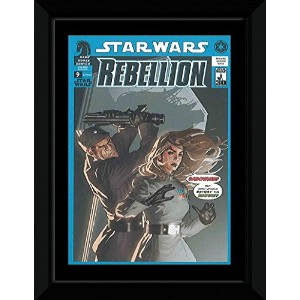 Star Wars - Rebellion: Sabotage Framed Mini Poster - 14.7x10.2cm