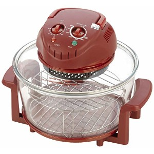 Fagor Halogen Tabletop Oven, Red [並行輸入品]