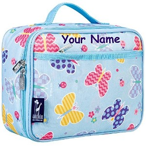 Personalized Olive Kids Butterfly Garden Lunch Box by WK
