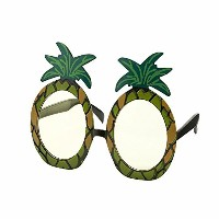 Talking Tables Fiesta Tropical Pineapple Sunglasses, Multi-Colour, 19x11x2.5 cm by Talking Tables