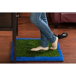 Revolutionary Anti-Fatigue Rug & Comfort Mat: For Home Or Office Desk - Relaxes and Soothes Feet by...