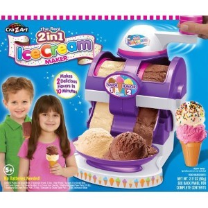 2-in-1 Real Ice Cream Maker, Make real ice cream and frozen desserts by Cra-Z-Art