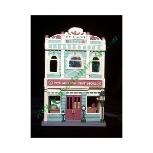 Nostalgic Houses & Shops 5 & 10 Cent Store 9th in Series 1992 Hallmark Keepsake Ornament QX4254 by...