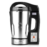 Hometech 800W Electric Jug Stainless Steel Soup Maker Machine Blender with 56 Oz Capacity by...