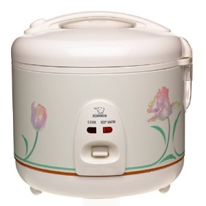 Zojirushi NS-RNC10 Automatic 5-1/2-Cup (Uncooked) Rice Cooker and Warmer [並行輸入品]