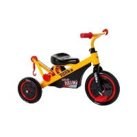Dynacraft Tonka Tricycle, 10-Inch, Yellow/Red/Black [並行輸入品]
