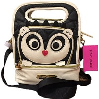 Betsey Johnson Top Handle Insulated Lunch Tote Box by Betsey Johnson
