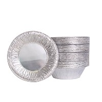 Party Bargains 5.5 inch Aluminum Foil Tart/Pie Pans, Set of 50 Pie Tins For Your Favorite Homemade...
