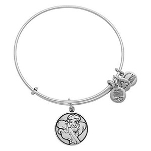 Disney Parks Alex and Ani Ariel Little Mermaid Silver Bracelet Charm by Alex and Ani [並行輸入品]