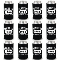 shop4ever ® Made in 1966Can Coolie誕生日ドリンククーラーCoolies ブラック