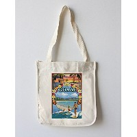 グアム島 – montageシーン Canvas Tote Bag LANT-77239-TT