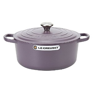 Le Creuset ルクルーゼ SIGNATURE シグニチャー Cocotte ronde 28cm ココットロンド Amethyst アメジスト 両手鍋 [並行輸入品]