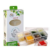 BABY上村ベビーフード保存容器/ 100ミリリットルキューブケース BABY UEMURA baby food storage containers/ 100ml Cube case 【並行輸入品】