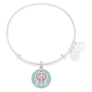 Alex and Ani Charity by Design The Way Home Expandable Shinyシルバーバングルブレスレット