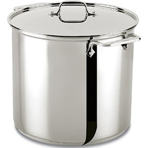 All-Clad 59916 Stainless Steel Dishwasher Safe Stockpot Cookware, 16-Quart, Silver [並行輸入品]