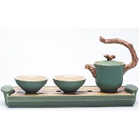 Pottery Mall 茶器セット 急須 湯呑 中国茶器 (セット6)