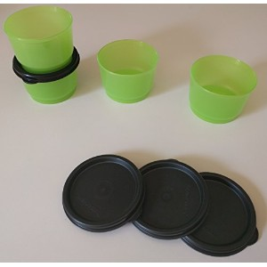 Tupperware Snack Cups inライム