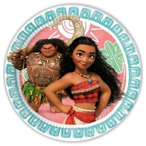 Moana Paper Party Dinner Plates x 8