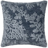 POLY SET Loloi PSETGPI03DE00PIL3 Denim Decorative Accent Pillow, 22' x 22' [並行輸入品]