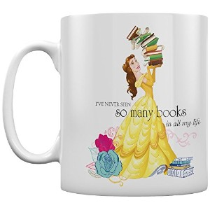 Beauty And The Beast Books Ceramic Mug, Multi-Colour