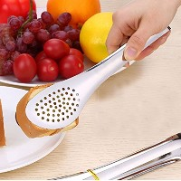"""bbolive 7""""ステンレススチールCooking Tongs、食品Tastes Better Withメタル調理器具Serving Tongs、2のセット"""