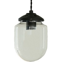 GLASS DOME PENDANT LIGHT 1灯 ブラック