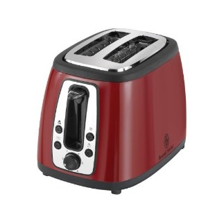 Russell Hobbs TR9260RM 2 Slice Toaster, Red by Russell Hobbs