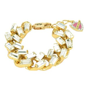 Juicy Couture Baguetteチェーンブレスレット