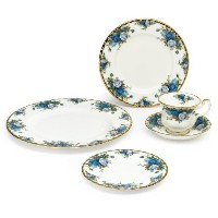 Royal Albert Moonlight Rose 5-Piece Place Setting, Service for 1 by Royal Albert