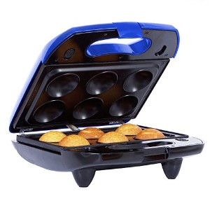 Holstein Housewares HF-09026KM All-in-One Snack Station with Interchangeable Plates - Blue [並行輸入品]