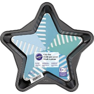 Wilton 2105-6185 Star-Shaped Cake Pan, 6 x 2