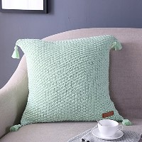 Zuanma Brand Cotton Knitted Pillowcase Cushion cover Home Decor Soft & Comfortable Fresh &...